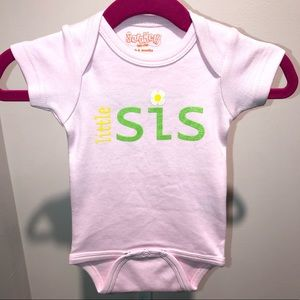 Little Sister baby onesie